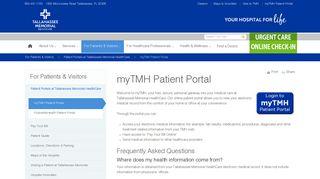 Tmh Patient Portal