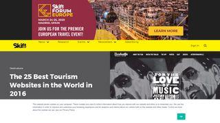 Tourism Web Portal