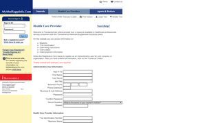 Transamerica Provider Portal