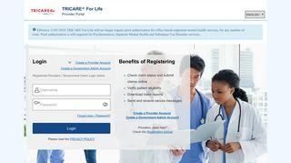 Tricare4u Provider Portal