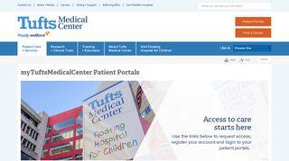 Tufts Medical Center Portal