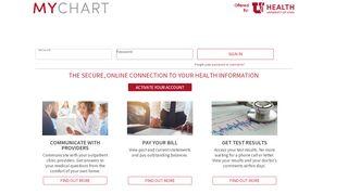 U Of U Patient Portal