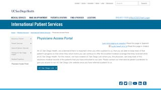 Ucsd Clinical Web Portal