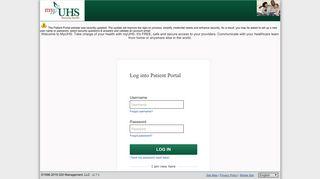 Uhs Patient Portal