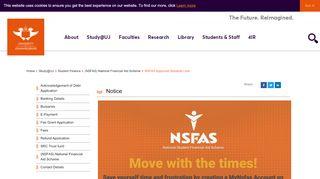 Uj Student Portal Nsfas