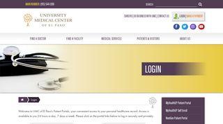 Umc El Paso Employee Portal