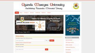 Umu Library Portal