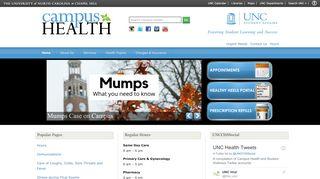 Unc Campus Health Portal