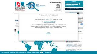 Unesco Higher Education Portal