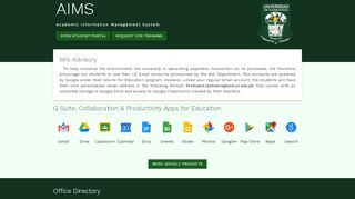 Universidad De Zamboanga Student Portal