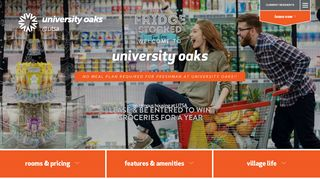 University Oaks Portal
