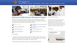 University Of Eastern Africa Baraton Student Portal