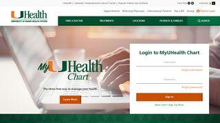 University Of Miami Patient Portal