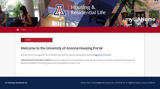 Uofa Housing Portal