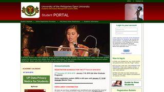 Up Open University My Portal