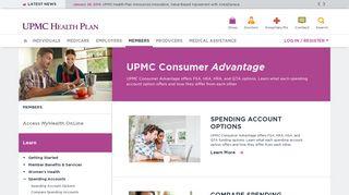 Upmc Consumer Advantage Member Portal