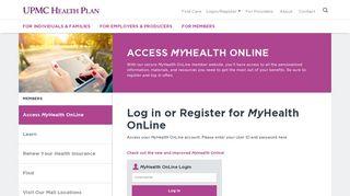 Upmc Member Portal