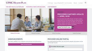 Upmc Provider Portal