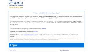 Uri Patient Portal