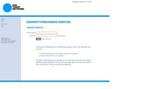 Usa Today Web Portal