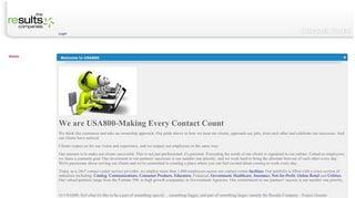 Usa800 Net Portal
