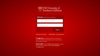 Usc Web Portal
