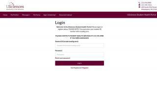 Usciences Health Portal