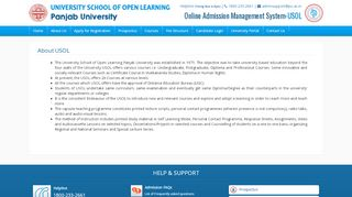 Usol Admission Portal