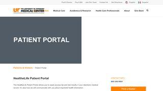 Utmc Patient Portal