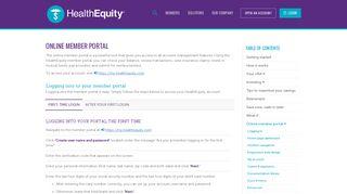 Verified Member Portal