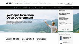 Verizon Developer Portal