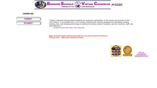 Virtual Counselor Student Portal