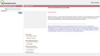 Vusd Student Portal