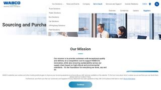 Wabco Supplier Portal