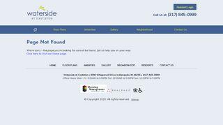Waterside At Castleton Resident Portal