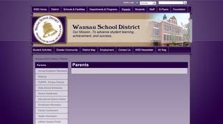 Wausau West Campus Portal