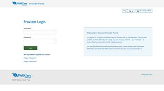 Wellcare Provider Portal