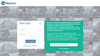 West One Loans Portal
