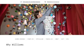 Williams Application Portal