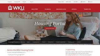 Wku Housing Portal