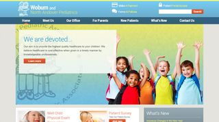 Woburn Pediatrics Portal