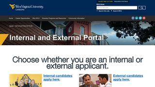 Wvu Jobs Portal