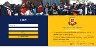 Www Cuz Ac Zw Student Portal