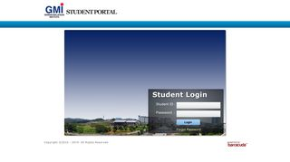 Www Gmi Edu My Student Portal