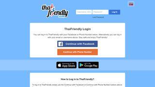 Www Thaifriendly Com Login - Find Official Portal