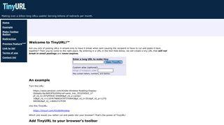 tinyurl dating site