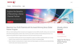 Xerox Global Partner Portal