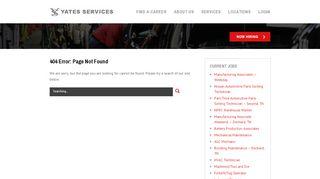 Yates Pay Portal