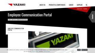 Yazaki Employee Portal