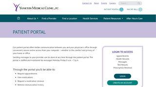 Ymc Patient Portal